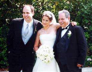 Jen with her brother & father